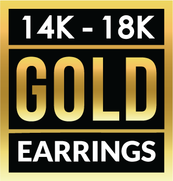 14K 18K GOLD EARRINGS